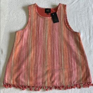 W5 tank top new with tags